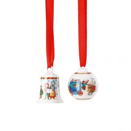Hutschenreuther – mini set kerst  2019 – limited edition – design Renáta – set nr 2