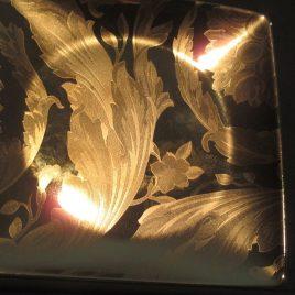 Versace – Vanity la Doree – bordje 11 x 11 cm. – goud