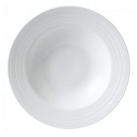 Jasper Conran White Strata by Wedgwood – pasta bord 26 cm.