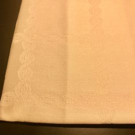 Vandijck – servet 55 x55 cm – gebroken wit