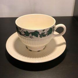 Wedgwood – Stratford – koffie/thee kop ( 9 cm) en schotel – Vintage