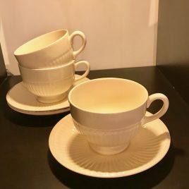 Wedgwood – Edme – thee kop en schotel  – Vintage