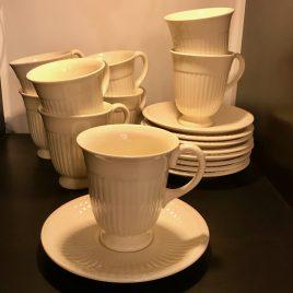 Wedgwood – Edme – koffie kop en schotel  – Vintage