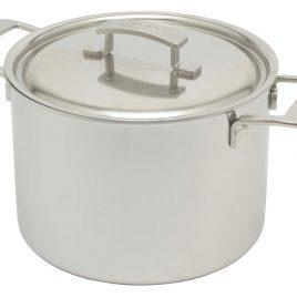 Demeyere – Industry – hoge kookpan/ soeppan  met deksel  8 liter