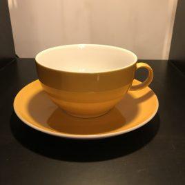 Rosenthal -Trend – Sunny day – ontbijt kop en schotel – geel