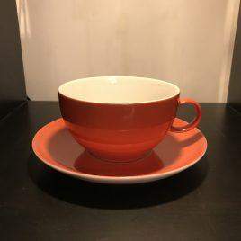 Rosenthal -Trend – Sunny day – ontbijt kop en schotel – oranje