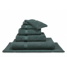 Vandyck – handdoek 55×100 cm.- uni earth green
