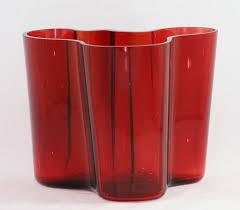 Iittala – Alvar Aalto Collection – vaas rood