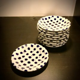 Driade – The white snow agadir – Antonia Astori decoration by Paola Navone – schaaltje 9 cm.