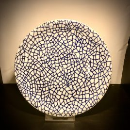 Driade – The white snow agadir – Antonia Astori decoration by Paola Navone – ontbijt bordje 20 cm