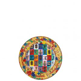 Versace – by Rosenthal – Holiday Alphabet – Christmas plate 18 cm 2019