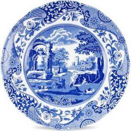 Spode – Blue Italian – ontbijt bord 19 cm.
