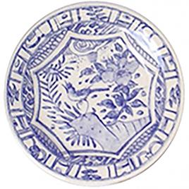 Gien – Oiseau Blue – diner bord 27,5 cm.