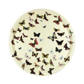 Fornasetti dienblad 60 cm. vlinders