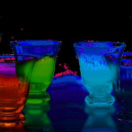 Dibbern – gekleurd glas – Venice