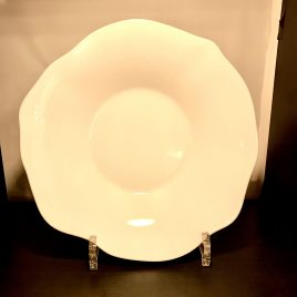 Villeroy & Boch – Mira Colore –  diep bord 22 cm – wit/geel