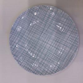 Rosenthal-mesh-bord 24 cm-line aqua