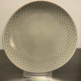 Rosenthal-junto-pearl grey-bord 16 cm