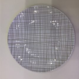 Rosenthal-mesh-bord 24 cm-line walnut