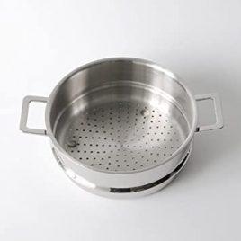 alessi- jasper Morrison-pots and pans – stoompan met inzet
