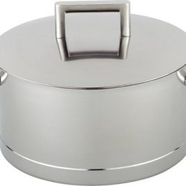 demeyere-john pawson-kookpan met deksel- 20 cm