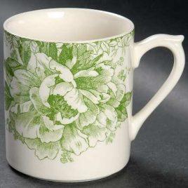 gien-fleur de chine- groen -vert- beker