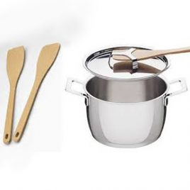 alessi- jasper Morrison-pots and pans – casserole -20 cm
