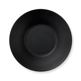 Royal Copenhagen-black-deep bord