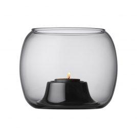 iittala-kaasa-likka suppanen-tealight-candleholder-grey