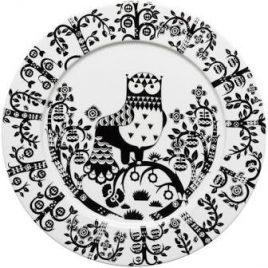 iittala-taika-zwart-borden 30 cm