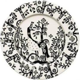 iittala-taika-zwart-bord 22 cm