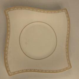 villeroy & Boch- wave-samarah- wit goud-dinerbord