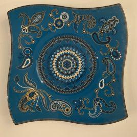 villeroy & Boch -wave-samarah-turquoise-onderbord