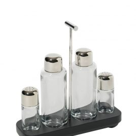 alessi- condiment set