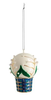 alessi-kerst-  mughetti e smeraldi- kerstornament