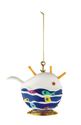 Alessi faberjori ornament Bianca la Balena Buona