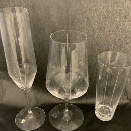 orrefors- line – 3 glasses