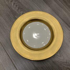 wedgwood- – minton- pure gold – gebaksborden-cakeplates