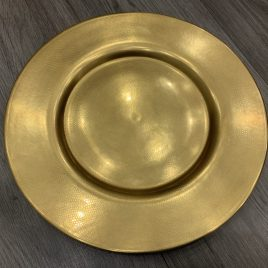 wedgwood-  minton- pure gold –  presentatie bord- onderbord