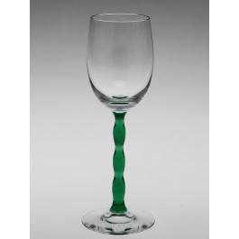 orrefors- nobel-dessertwijn glas-groen