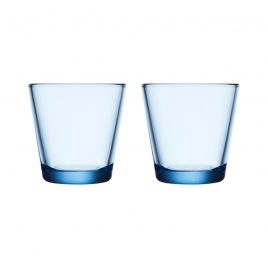 iittala- kartio- glasses 21 cl – light blue