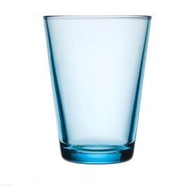 iittala- kartio- glasses 40 cl – light blue