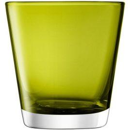 lsa international- asher- olive – water glasses