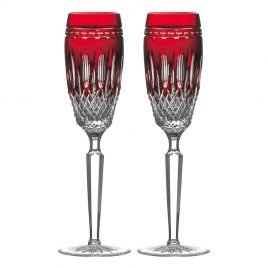 waterford- claradon- ruby – Champagne flute