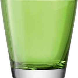 lsa international- asher- lime – water glasses