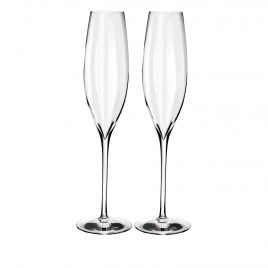 waterford- optic- champagne flute