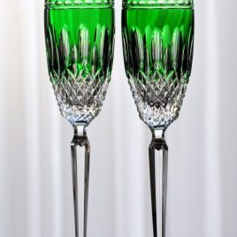 waterford- claradon- emerald – Champagne flute