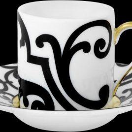 j seignolles- taormina- koffiekop en schotel