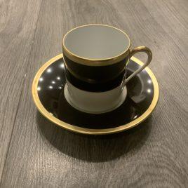 j seignolles- Madison black- espresso kop & schotel