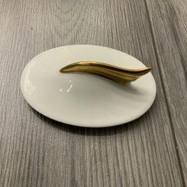 versace- suikerpot deksel- medaillon meander d ore-